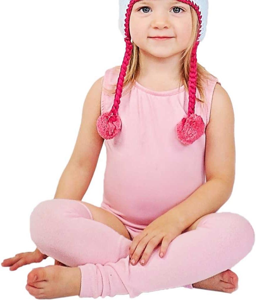 Huggalugs Girls Blossom Pink Leg Warmers