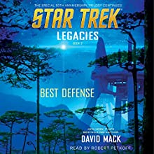Best Defense: Star Trek: Legacies, Book 2 Audiobook by David Mack Narrated by Robert Petkoff