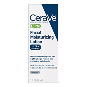 Cerave Facial Moisturizing Lotion Pm Spf#30 3 Ounce (89ml) (2 Pack)