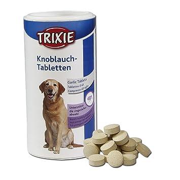 Comprimidos de ajo para perros TRIXIE con Vitamina B 125g: Amazon.es: Productos para mascotas