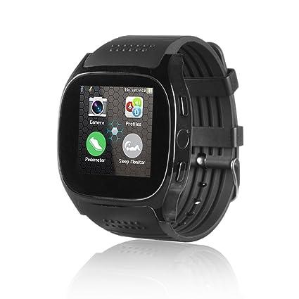 Bluetooth T8 T8 M reloj inteligente con monitor de sueño, para iPhone/Samsung/