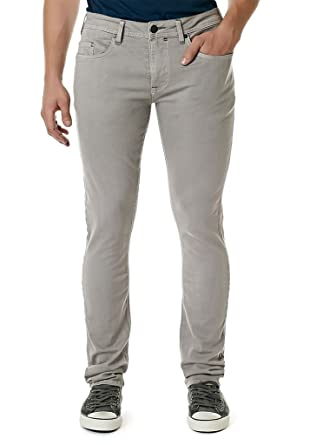 Buffalo Men's BM17802 Max-X Super Skinny Stretch Jeans - Grey ...