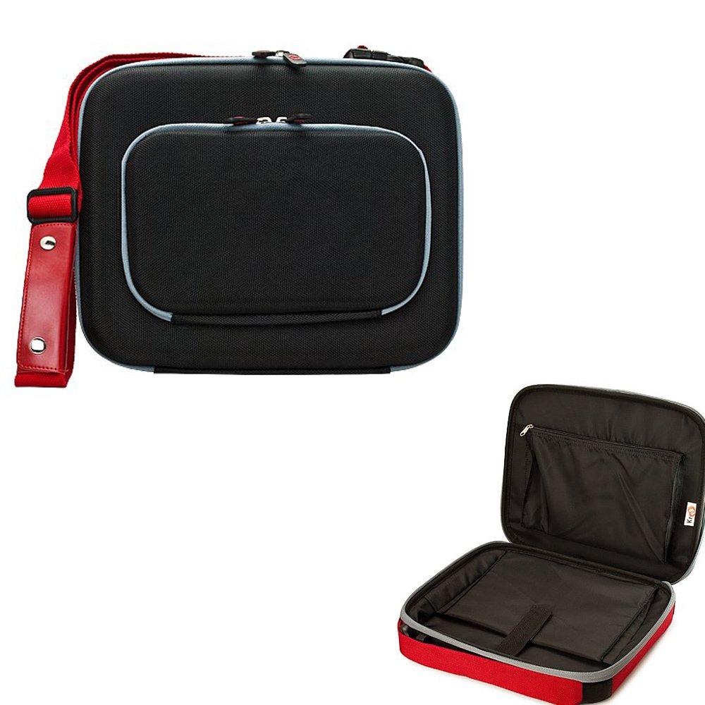 Amazon.com: Premium Messenger Bag Shoulder Bag Tablet Pouch ...