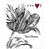 Vintage Tulip Sheet of 20 x 70 Cent U.S. Postage Stamps by Wedding Stamps