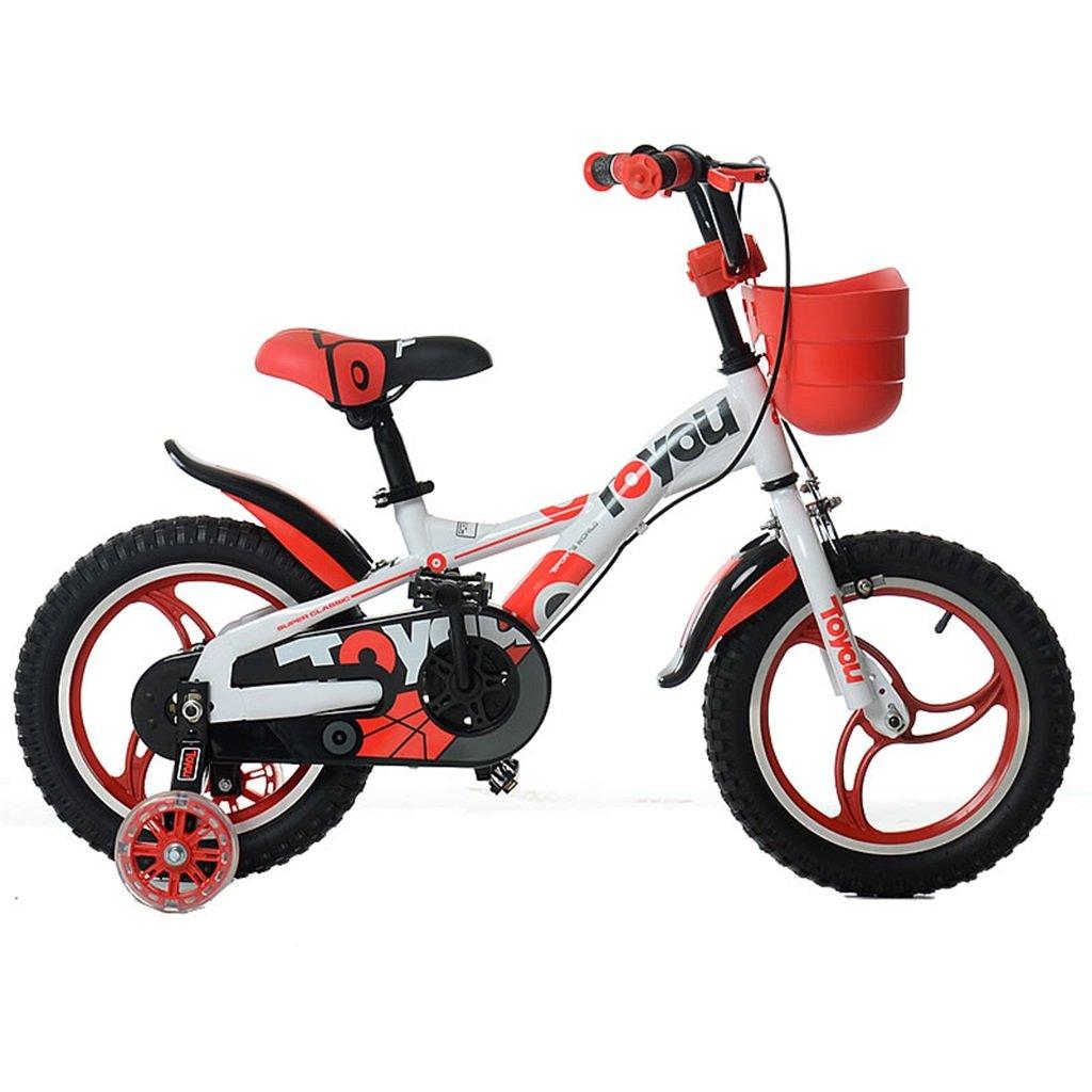 KANGR-子ども用自転車 子供の自転車適切な2-3-6-8男の子と女の子幼児用幼児用屋外マウンテンバイクのハンドルバーとサドルは、安全トレーニングホイールで調整可能な高さに調整できます。-12 / 14/16インチ ( 色 : D , サイズ さいず : 14 inch ) B07BTSP21W 14 inch|D D 14 inch