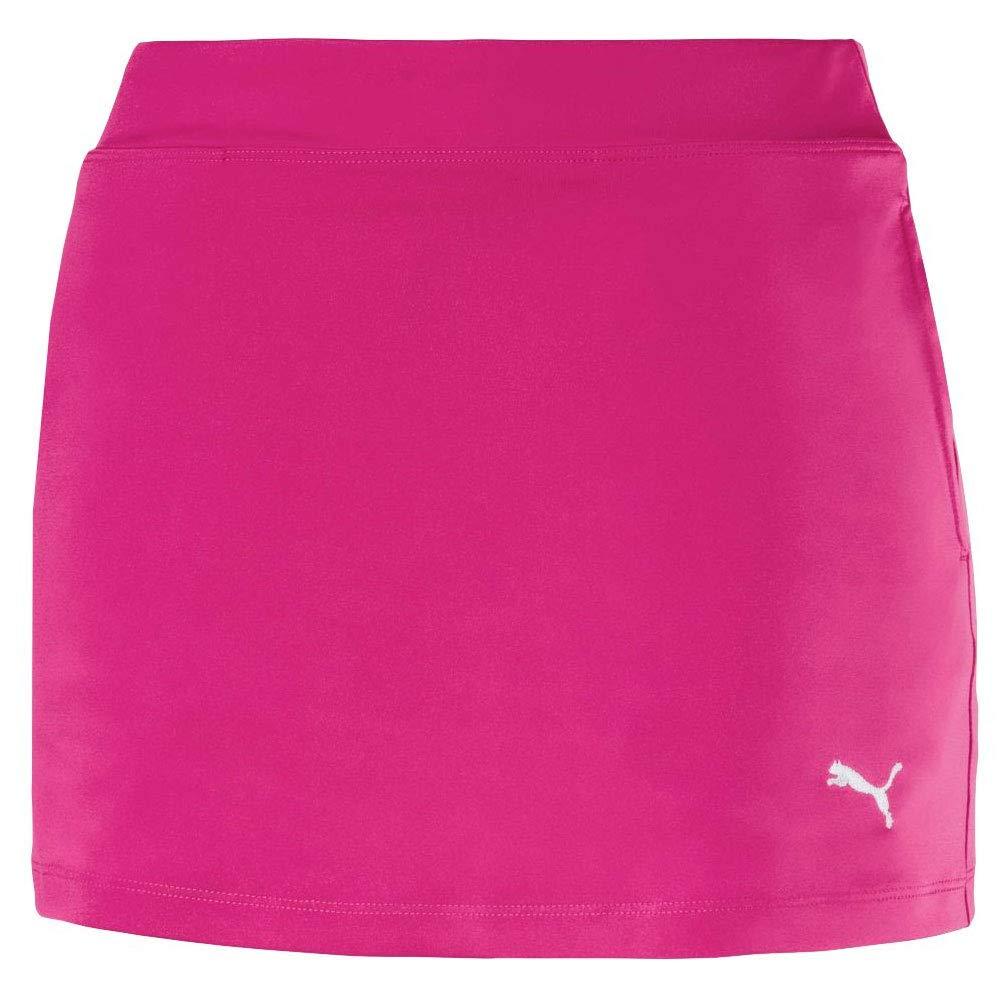 Puma Golf Girls 2019 Solid Knit Skirt, Fuchsia Purple, Small
