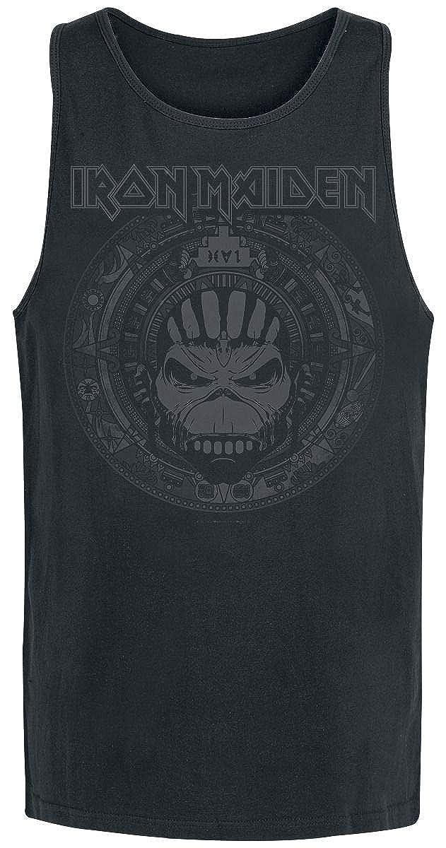 Iron Maiden Book of Souls Skull Top Tirante Ancho Negro