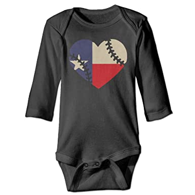 Amazon Com Hhh Texas State Flag Baseball Lace Autumn Long Sleeve