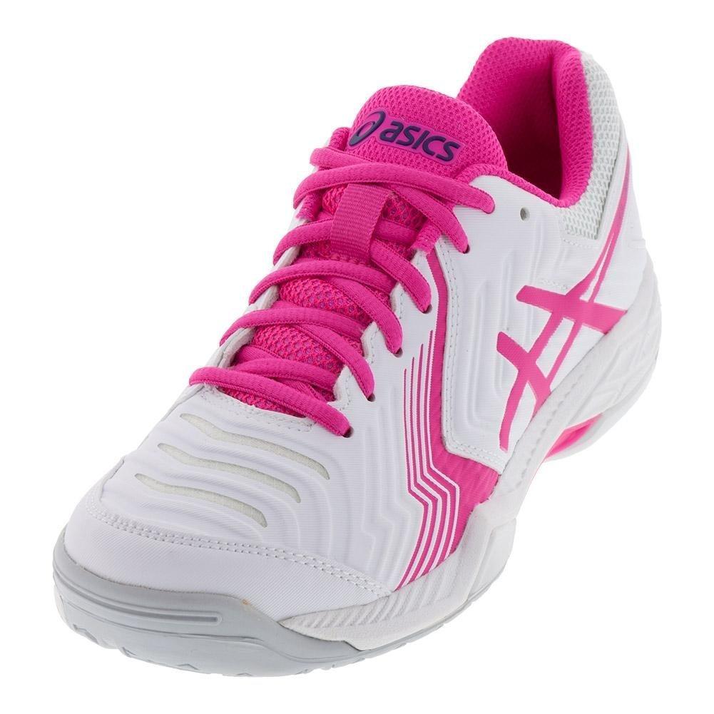 ASICS Women's Gel-Game 6 Tennis Shoe B077MQ6BJR 6.5 B(M) US|White/Pink Glo