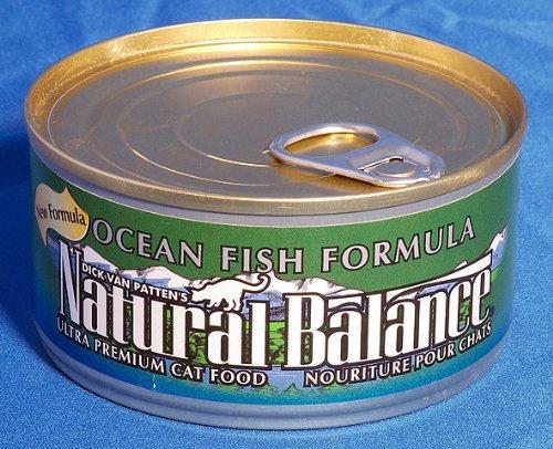 Natural Balance Ultra Premium Canned Cat Food Ocean Fish 6 oz