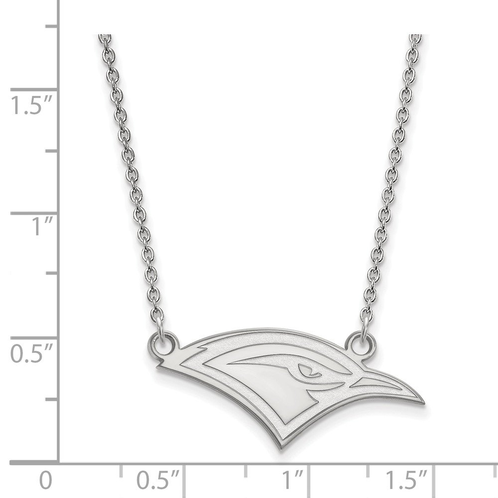 Mia Diamonds 925 Sterling Silver LogoArt The U of Tenn at Chattanooga Sm Pend with Necklace