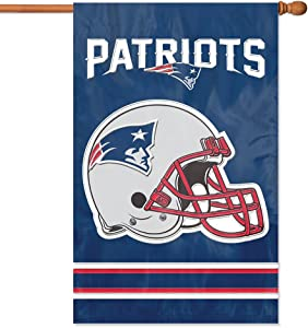 Party Animal NFL Applique House Banner Flag, 44
