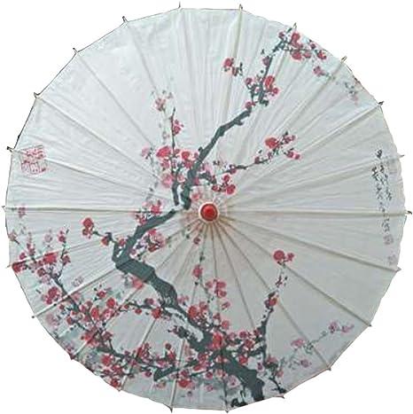 Black Temptation Ombrello Parasole in Stile Giapponese per Fotografia Decorazione Costumi