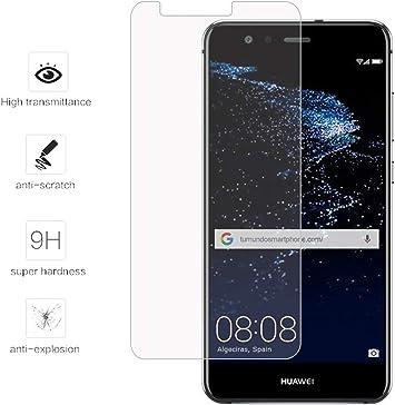 Tumundosmartphone Protector Cristal Templado para Huawei P10 Lite ...