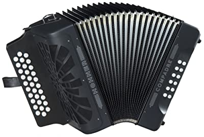 Hohner Compadre G/C/F 3-Row Diatonic Accordion