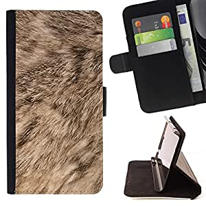For Apple (4.7 inches!!!) iPhone 6 / 6S Case , Piel Natural Brown Dog Animal- la tarjeta de Crédito Slots PU Funda de cuero Monedero caso cubierta de piel