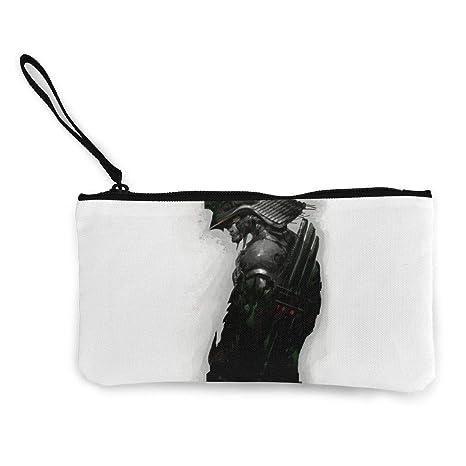 Serity Samurai - Monedero portátil de Lona para Mujer y niña ...