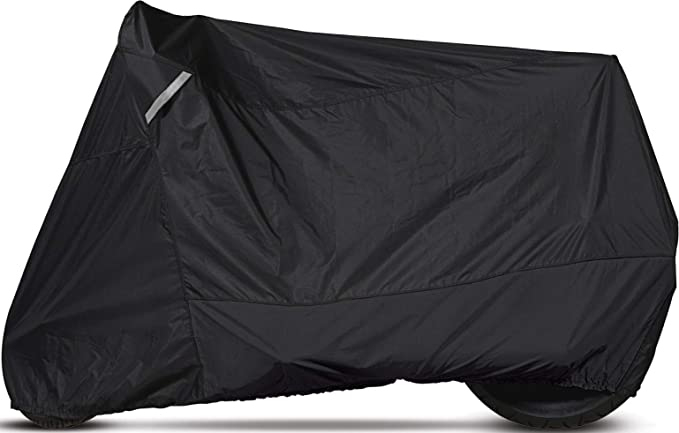 Medium Dowco Guardian 50031-00 WeatherAll Plus Heavy Duty Outdoor Waterproof Scooter Cover Black