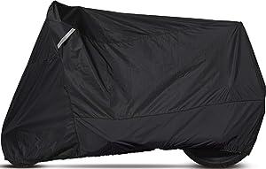 Dowco Guardian 51223-00 WeatherAll Plus Indoor/Outdoor Waterproof Motorcycle Cover: Black, Cruiser