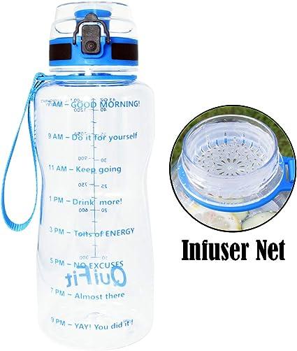 Großer Kapazität Outdoor-Sportflasche 2.2L Tragbare Trinkflasche des Wasser