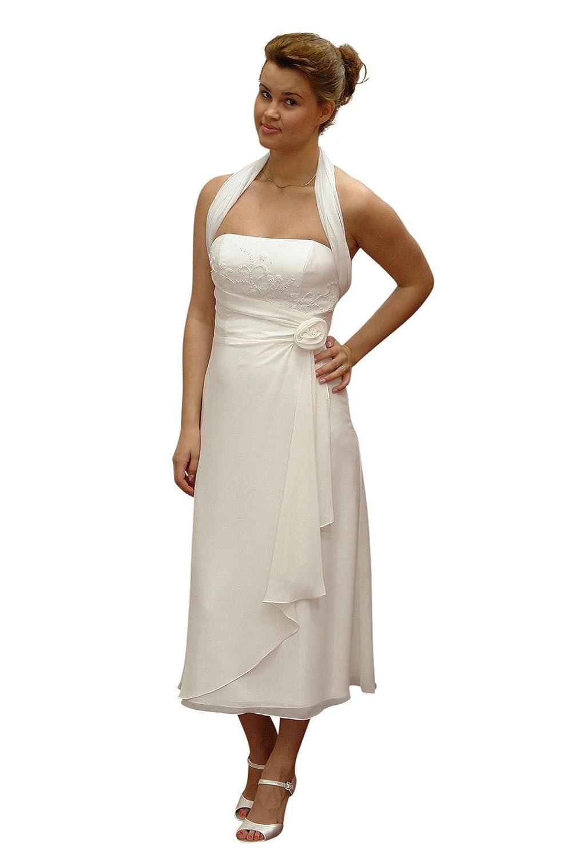 Standesamt Brautkleid, ivory 36: Amazon.de: Bekleidung