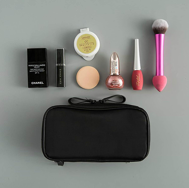 sciuU Bolsa Cosmética de Viaje, Estuche de Belleza Lavado portátil Plegable, Multiusos Organizador de Nylon para Maquillaje, Viaje o Accesorios para el ...