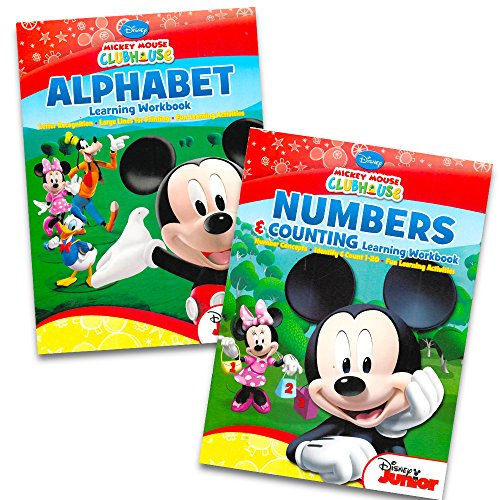(Mickey Mouse Clubhouse Workbook Set - Numbers and Alphabet by Bendon)