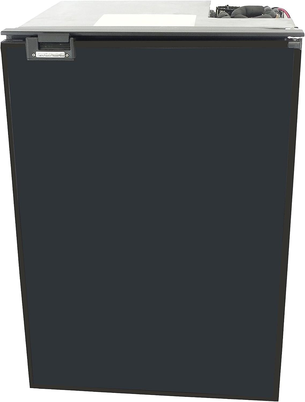 TruckFridge TF130 Black Refrigerator (4.2 cubic ft 12vDC for Commercial Vehicles)