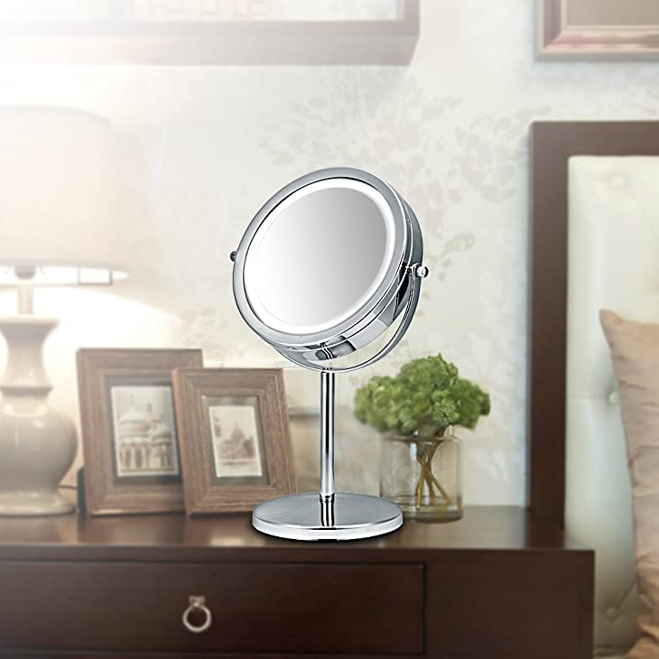 Use Position of Best Lighted Makeup Mirror