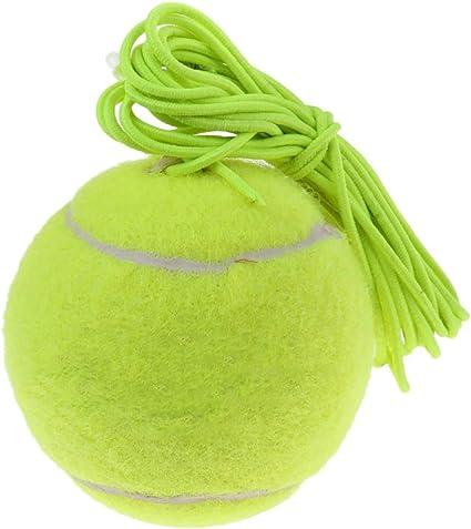 Winter Winner - Pelota de Tenis elástica y Duradera, con Cuerda ...