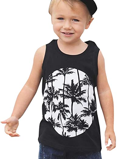 UK Baby Kids Girls Summer Outfits Casual T-shirt Tank Top Vest Pants Clothes Set