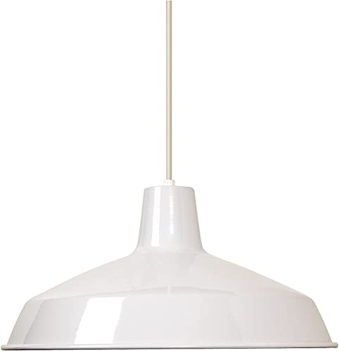 Nuvo Lighting SF76 283 Warehouse Shade, White