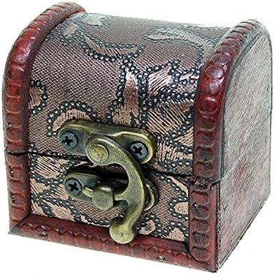 CHRISTIAN GAR Pack de 12 Estuches para Joyería - Mini-Baúles ...