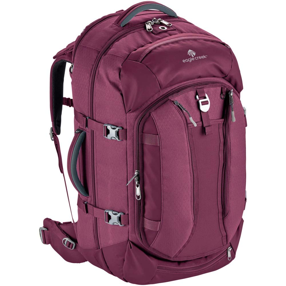 Eagle Creek Global Companion 65L Women's Backpack Travel Water Resistant Mulituse-17in Laptop Suitecase, Concord