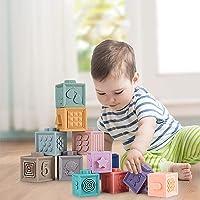 Mini Potato Baby Building Blocks Soft Building Blocks Baby Toys Teether Toys Educational Toys Toy Number Animal Shape…