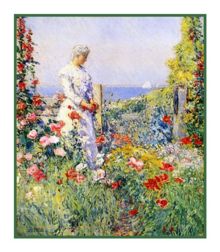 celia-thaxters-garden-by-childe-hassam-counted-cross-stitch-pattern