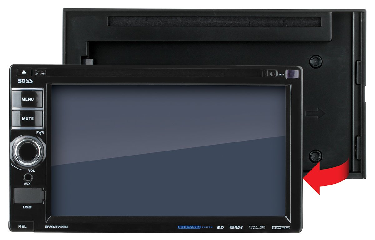61DqQf7SI L._SL1200_ amazon com boss audio bv9372bi double din, touchscreen, bluetooth 2012 Chevy Cruze Wiring-Diagram Wiper Motor at alyssarenee.co