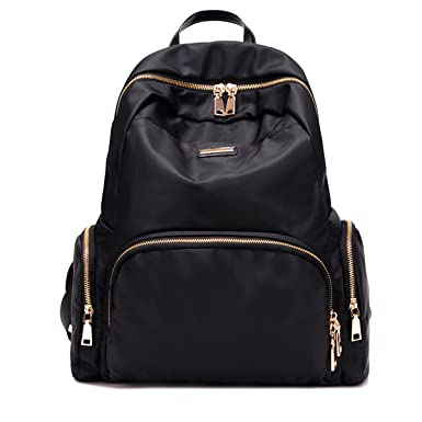 Backpacks 2019 High Quality Oxford Backpack Women Black Waterproof Nylon School Bags For Teenage Girls Fashion Casual Travel Tote Backpack