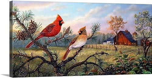 GREATBIGCANVAS Meadow Retreat Canvas Wall Art Print