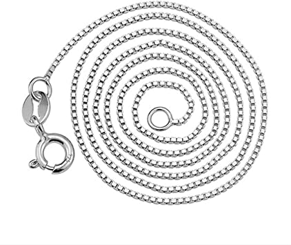 925 sterling silver gold rose gold plated 16,18,20,22,24,30,36 inches 1.0mm thick link chain for pendant