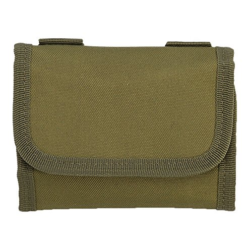 VGEBY Rifle Ammo Pouch Cartridge Holder Rifle Cartridge Carrier Bag, 12 Cartridge Loops (Color : Army Green) ()