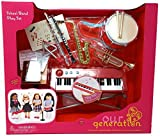 NEW! Our Generation - SCHOOL BAND PLAYSET INSTRUMENTS - Functional Keyboard, Comes with 15 Fun Music Accessories!