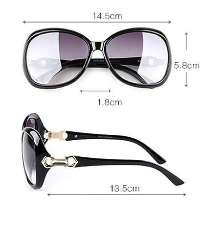 LQABW Fashion Trends Sonnenbrille Europa Und Die Vereinigten Staaten Männer Und Frauen Big Box Schwarze Sonnenbrille,Brown2