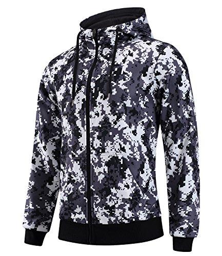 Zipper Hooded Fleece - 7