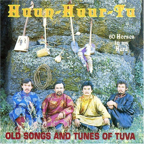 Sixty Horses in My Herd: Old Songs and Tunes of Tuva by CD