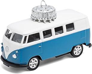 corpus delicti :: Christbaumschmuck – die rollende Alternative zur Weihnachtskugel – VW Bus T1 Bulli (blau)