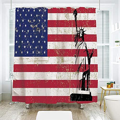 scocici Bathroom Curtain Separation Door Curtain Shower Curtain,NYC