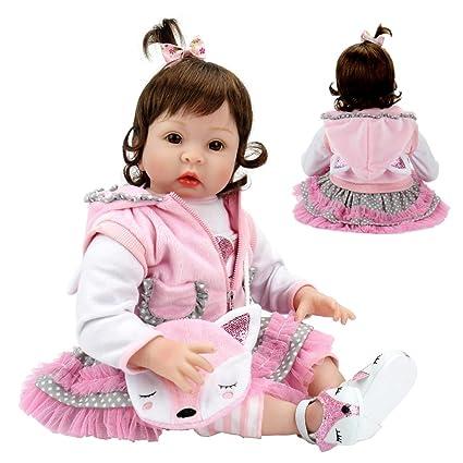 Amazon.com: Aori realista Reborn muñecas 22 pulgadas ...