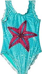 OFFCORSS Toddler Girl One Piece Swimsuit UV Protection |Traje de Baño para Niñas