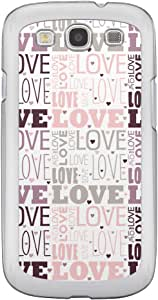Loud Universe Samsung Galaxy S3 Love Valentine Printing Files A Valentine 177 Printed Transparent Edge Case - Multi Color